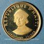 Coins Haïti. République. 100 gourdes 1973. (PTL 900‰. 1,45 g)