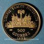 Coins Haïti. République. 500 gourdes 1973. (PTL 900‰. 7,28 g)