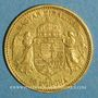 Coins Hongrie. François Joseph I (1848-1916). 10 couronnes 1892. (PTL 900‰. 3,39 g)