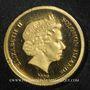 Coins Iles Salomon. Elisabeth II (1952 - /). 10 dollars 2009. (PTL 999‰. 1 g)