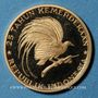 Coins Indonésie. 200 roupies 1970. 25e anniversaire de l'indépendance. (PTL 900/1000. 4,93 g)