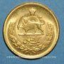 Coins Iran. Mohammad Reza Pahlavi, Shah (1320-58ES = 1941-1979). Pahlavi 1353ES (1974). (PTL 900‰. 8,13 g)