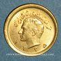 Coins Iran. Mohammad Reza Pahlavi. Shah (1320-58ES = 1941-79). 1/4 pahlavi ES1335 (PTL 900/1000. 2,03 g)