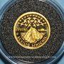 Coins Irlande. 20 euros 2008. Skellig Michael. (PTL 999‰. 1,24 g)
