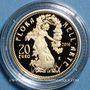 Coins Italie. 20 euro 2016. Art floral - Contemporain. (PTL 900‰. 6,45 g)