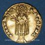 Coins Italie. République florentine (1189-1532). Florin d'or n. d. (1332-1348)