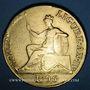 Coins Italie. République ligurienne (1798-1805). 96 lires 1801. (PTL 917/000. 25,21 g)