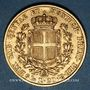 Coins Italie. Sardaigne. Charles Albert (1831-1849). 20 lires 1849P. Gênes.. (PTL 900/1000. 6,45 g)