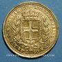 Coins Italie. Sardaigne. Charles Albert (1831-1849). 50 lires 1833P. Turin. (PTL 900/1000. 16,12 g)