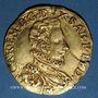 Coins Italie. Sardaigne. Charles Emmanuel I (1580-1630). Doppia 1587. Turin !