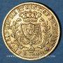 Coins Italie. Sardaigne. Charles Félix (1821-1831).  20 lires 1827 L. Turin. (PTL 900‰. 6,45 g)