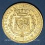 Coins Italie. Sardaigne. Charles Félix (1821-1831). 40 lires 1825 P. Gênes. (PTL 900‰. 12,90 g)