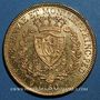 Coins Italie. Sardaigne. Charles Félix (1821-1831).  80 lires 1830. Gênes. (PTL 900/1000. 25,80 g)