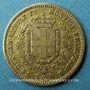 Coins Italie. Sardaigne. Victor Emmanuel II (1849-1861). 20 lires 1851 P. Gênes. (PTL 900‰. 6,45 g)
