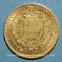 Coins Italie. Sardaigne. Victor Emmanuel II (1849-1861). 20 lires 1851B. Turin. (PTL 900/1000. 6,45 g)