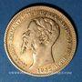 Coins Italie. Sardaigne. Victor Emmanuel II (1849-1861). 20 lires 1852P. Gênes. (PTL 900/1000. 6,45 g)