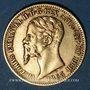Coins Italie. Sardaigne. Victor Emmanuel II (1849-1861). 20 lires 1853 P. Gênes. (PTL 900‰. 6,45 g)