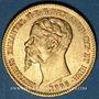 Coins Italie. Sardaigne. Victor Emmanuel II (1849-1861), 20 lires 1855 B Turin. (PTL 900‰. 6,45 g)