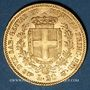 Coins Italie. Sardaigne. Victor Emmanuel II (1849-1861), 20 lires 1855B Turin. (PTL 900/1000. 6,45 g)