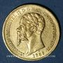 Coins Italie. Sardaigne. Victor Emmanuel II (1849-1861). 20 lires 1859P. Gênes. (PTL 900/1000. 6,45 g)