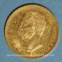 Coins Italie. Umberto I (1878-1900). 20 lires 1881R. Rome. (PTL 900/1000. 6,45 g)