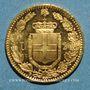 Coins Italie. Umberto I (1878-1900). 20 lires 1882 R. Rome. (PTL 900‰. 6,45 g)