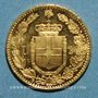 Coins Italie. Umberto I (1878-1900). 20 lires 1882R. Rome. (PTL 900/1000. 6,45 g)