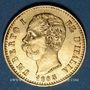 Coins Italie. Umberto I (1878-1900). 20 lires 1883R. Rome. (PTL 900/1000. 6,45 g)