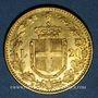 Coins Italie. Umberto I (1878-1900). 20 lires 1885 R. Rome. (PTL 900‰. 6,45 g)