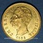 Coins Italie. Umberto I (1878-1900). 20 lires 1885R. Rome. 900 /1000. 6,45 gr