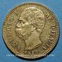 Coins Italie. Umberto I (1878-1900). 20 lires 1889 R. Rome. Année rare !. (PTL 900‰. 6,45 g)
