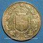 Coins Italie. Umberto I (1878-1900). 20 lires 1889R Rome. Année rare !. (PTL 900/1000. 6,45 g)