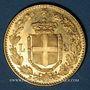 Coins Italie. Umberto I (1878-1900). 20 lires 1891 R. Rome. (PTL 900‰. 6,45 g)