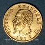 Coins Italie. Victor Emmanuel (1861-1878). 20 lires 1877R Rome. (PTL 900/1000. 6,45 g)