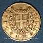 Coins Italie. Victor Emmanuel II (1861-1878). 10 lires 1863 T BN. Turin. (PTL 900‰. 3,22 g)