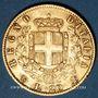 Coins Italie. Victor Emmanuel II (1861-1878). 20 lires 1865 T BN. Turin. (PTL 900‰. 6,45 g)