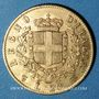 Coins Italie. Victor Emmanuel II (1861-1878). 20 lires 1865T BN. Turin. (PTL 900/1000. 6,45 g)