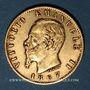 Coins Italie. Victor Emmanuel II (1861-1878). 20 lires 1867 T BN. Turin. (PTL 900‰. 6,45 g)