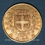 Coins Italie. Victor Emmanuel II (1861-1878). 20 lires 1873. Milan. (PTL 900‰. 6,45 g)