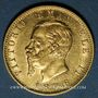 Coins Italie. Victor Emmanuel II (1861-1878). 20 lires 1876 R. Rome. (PTL 900‰. 6,45 g)