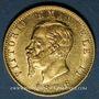 Coins Italie. Victor Emmanuel II (1861-1878). 20 lires 1876R. Rome. (PTL 900/1000. 6,45 g)