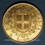 Coins Italie. Victor Emmanuel II (1861-1878). 20 lires 1878R Rome. (PTL 900/1000. 6,45 g)