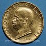 Coins Italie. Victor Emmanuel III (1900-1946). 100 lires 1931, an IX. (PTL 900‰. 8,799 g)