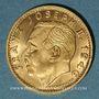Coins Liechtenstein. François Joseph II, prince (1938-1990). 20 franken 1946 B. (PTL 900‰. 6,45 g)