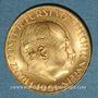 Coins Liechtenstein. François Joseph II, prince (1938-1990). 25 franken 1961. (PTL 900‰. 5,65 g)
