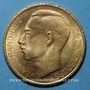 Coins Luxembourg. Jean, grand-duc (1964-2000). Module de 20 francs 1964, Avènement. (PTL 900 ‰. 6,45 g)