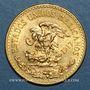 Coins Mexique. 20 pesos 1917. (PTL 900‰. 16,67 g)