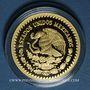 Coins Mexique. République. 1/2 onza 2016. (PTL 900‰. 15,55 g)