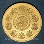 Coins Mexique. République. 1 onza 2011 Mo. (PTL 999‰. 31,10 g)