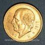 Coins Mexique. République. 10 pesos 1917. (PTL 900‰.  8,33 g)